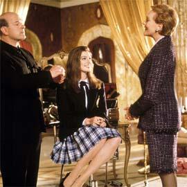 Larry Miller, Anne Hathaway, ...