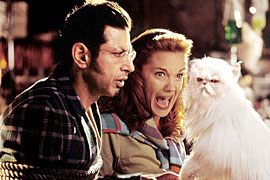 Jeff Goldblum, Elizabeth Perkins, ...