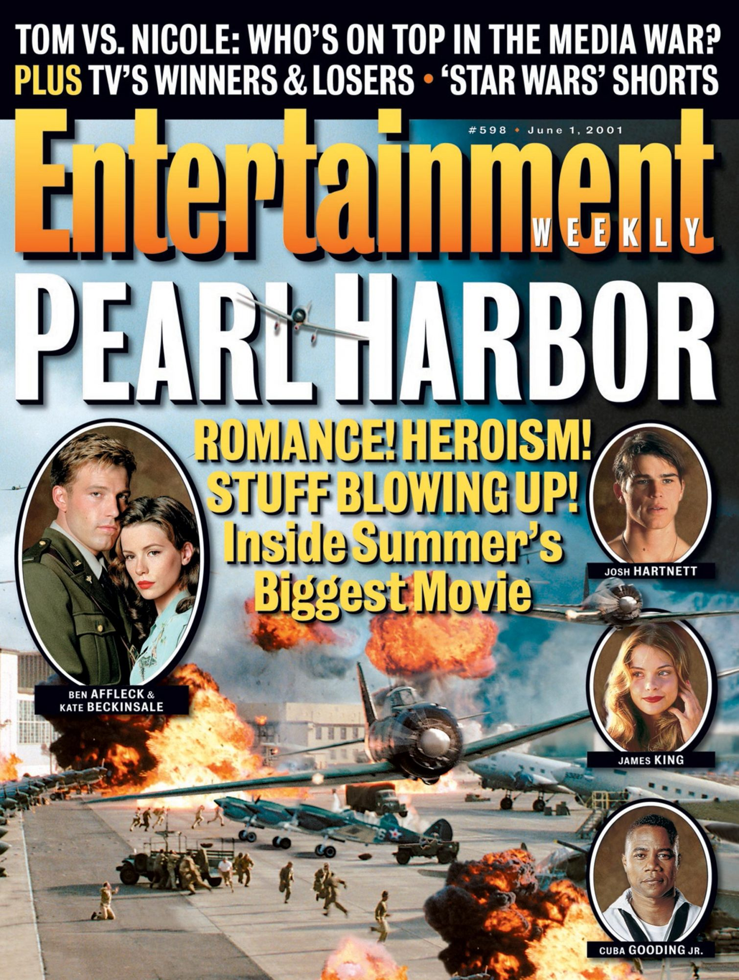 Entertainment WeeklyPearl HarborJUN 01, 2001Issue #598