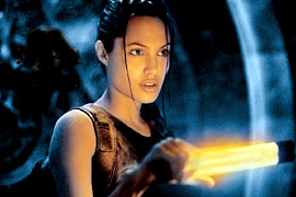 Angelina Jolie, Lara Croft: Tomb Raider