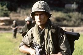 Charlie Sheen, Platoon