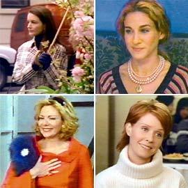 Kim Cattrall, Cynthia Nixon, ...