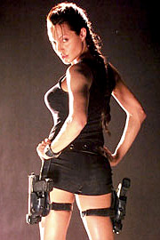 Angelina Jolie, Lara Croft: Tomb Raider