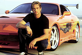 Paul Walker, The Fast and the Furious