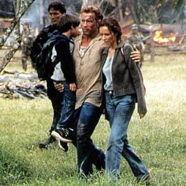 Francesca Neri, Arnold Schwarzenegger, ...