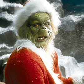 Jim Carrey, How the Grinch Stole Christmas!