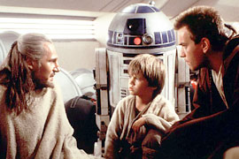 Jake Lloyd, Liam Neeson, ...