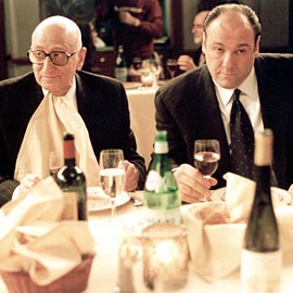 Dominic Chianese, James Gandolfini, ...