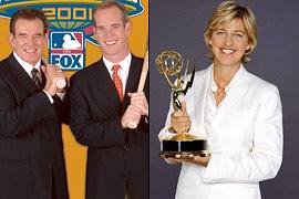 Tim McCarver, Ellen DeGeneres, ...