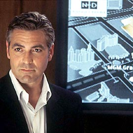George Clooney, Ocean's 11 (Movie - 2001)