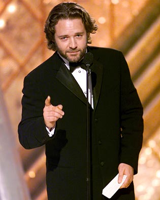 Russell Crowe, Golden Globe Awards 2002
