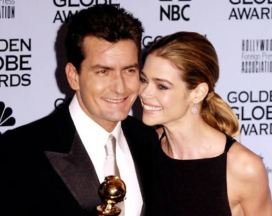 Charlie Sheen, Denise Richards, ...