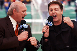 Paul McCartney, Terry Bradshaw