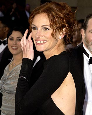 Julia Roberts, Oscars 2002