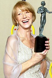 Helen Mirren, Screen Actors Guild Awards 2002