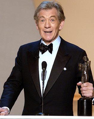 Ian McKellen, Screen Actors Guild Awards 2002