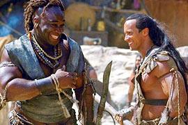 Michael Clarke Duncan, Dwayne ''The Rock'' Johnson