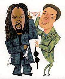 Wyclef Jean, Tom Jones (Musician)