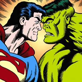 The Hulk, Superman