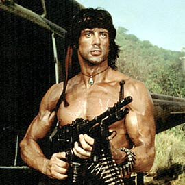 Sylvester Stallone, First Blood