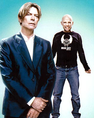 Moby, David Bowie