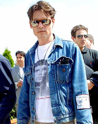 Johnny Depp, Cannes International Film Festival 2002