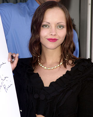 Christina Ricci, Cannes International Film Festival 2002