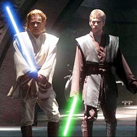 Ewan McGregor, Hayden Christensen, ...