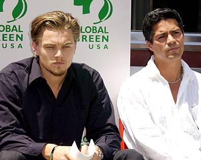 Esai Morales, Leonardo DiCaprio