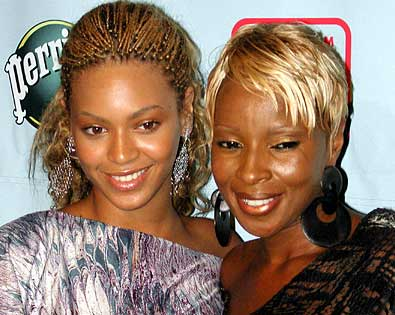 Mary J. Blige, Beyonce Knowles