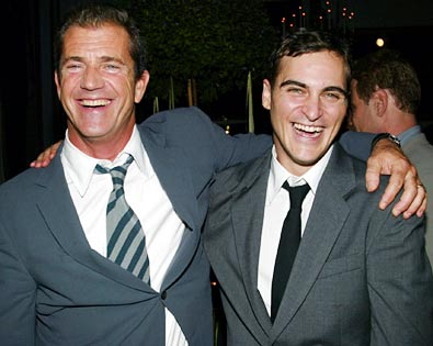 Mel Gibson, Joaquin Phoenix