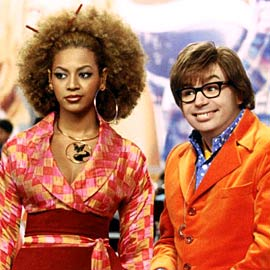 Mike Myers, Beyonce Knowles, ...