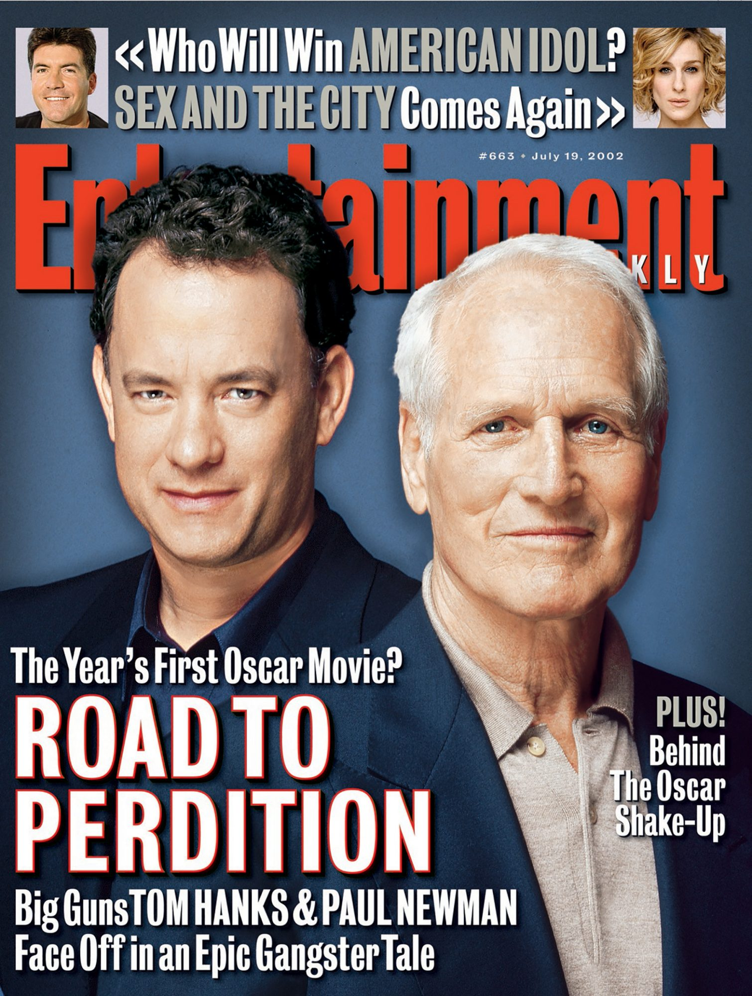 Entertainment WeeklyTom Hanks, Paul NewmanJuly 19, 2002# 663
