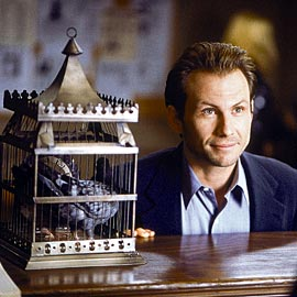 Christian Slater, Who Is Cletis Tout?