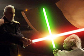 Star Wars, Christopher Lee, ...