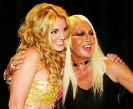 Britney Spears, Donatella Versace