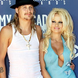 Kid Rock, Pamela Anderson, ...