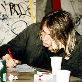 Kurt Cobain, Journals