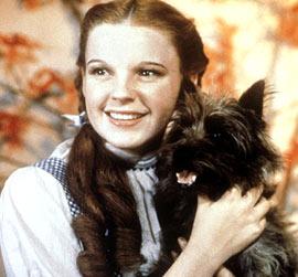 Judy Garland, The Wizard of Oz