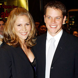 Matt Damon, Odessa Whitmire