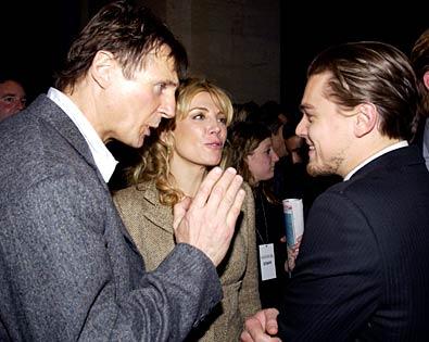 Liam Neeson, Leonardo DiCaprio, ...