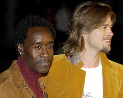 Brad Pitt, Don Cheadle