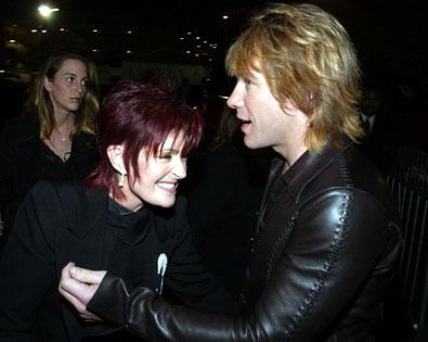 Jon Bon Jovi, Sharon Osbourne
