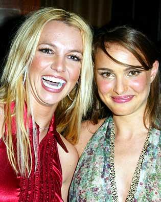 Britney Spears, Natalie Portman