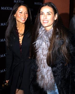 Lucy Liu, Demi Moore