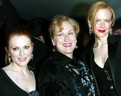 Meryl Streep, Nicole Kidman, ...