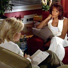 Diane Sawyer, Whitney Houston