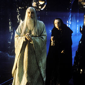 Christopher Lee, The Lord of the Rings: The Two Towers