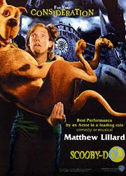 Matthew Lillard, Scooby-Doo