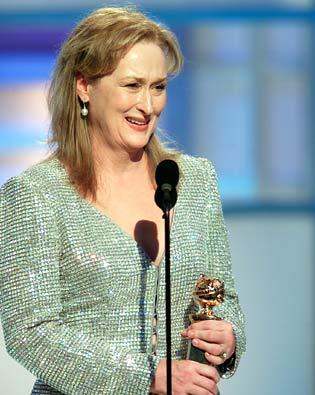 Meryl Streep, Golden Globe Awards 2003